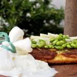 Frittatina rustica di fave fresche 2